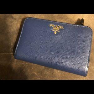 b2c0ac88bf00 A Beautiful Authentic Prada Saffiano Cobalt Blue